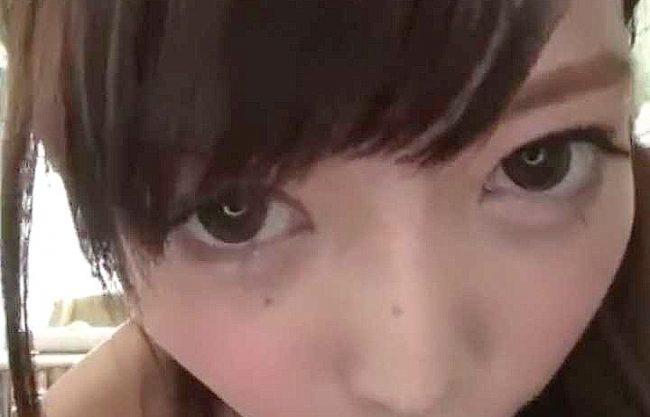 【主観】坂道系の奇跡的美少女が大きな瞳で見つめる主観フェラ!熱く濃密に蕩ける接吻に発情!!