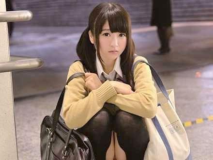 【JK】優等生は昨日まで…家出少女と禁断のルームシェア!泊まる家がない美少女がロリ体型で悶える膣内射精SEX!