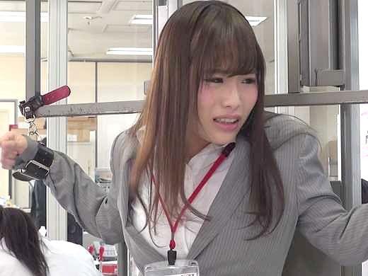 【実験】高速電マ刺激でイキまくるとOLはどうなるか!?⇒業務中にビクビク痙攣イキまくりでお漏らししまくりの痴態を披露w