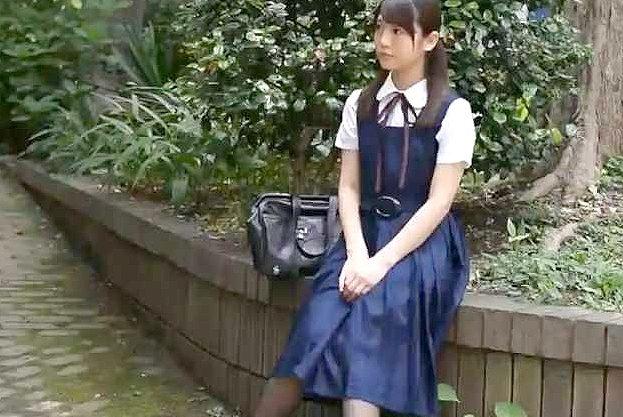 【レイプ】『だめぇ…やめて…!』清楚な制服美少女を拉致!目隠し陵辱で奴隷化、嫌がる少女を無理矢理レイプで中出しする鬼畜!