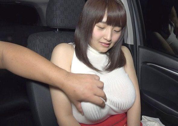 【巨乳】『すごい出ちゃった…♥』素朴な田舎娘と温泉でしっぽりSEX!極上のIカップ爆乳が揺れまくる悶絶Fuck!!