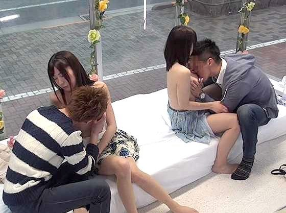 【MM号】大学生カップルの夫婦交換!恋人の前で違う男とSEX!嫉妬と羞恥と快感で絶頂しちゃう禁断のスワッピング企画w