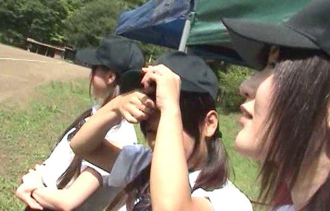 【企画】野球部女子マネはみんなの性欲処理係!部員のチ○ポをフェラ奉仕、合宿所のおじさんに爆乳サービスしちゃうww