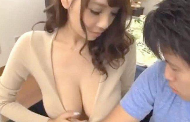 【RION】『見て、いっぱい汗かいちゃった…♥』爆乳カテキョがノーブラでおっぱいアピール!小悪魔挑発で悶絶SEX!