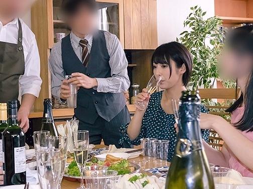 【NTR】『んんッ…やめて下さいッ…!』会社の飲み会で泥酔レイプされた妻!その映像を見て屈辱の鬱勃起が止まらない男!