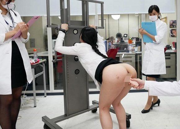 【SOD】『あぁッダメ、もう限界…♥』美人OLを拘束して電マ凌辱!性感帯チェックの悶絶羞恥でオフィスで絶頂イキまくりww
