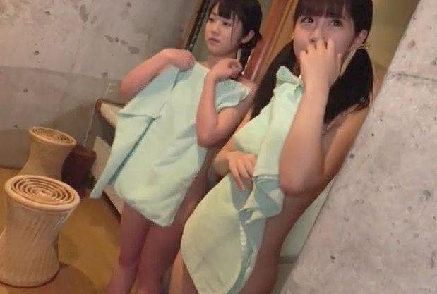 【ロリ】『気持ちよくしてあげる…♥』キャンプ場でロリ娘の入浴をのぞき!見つかって痴女責め、主観フェラ&お掃除フェラで絶頂