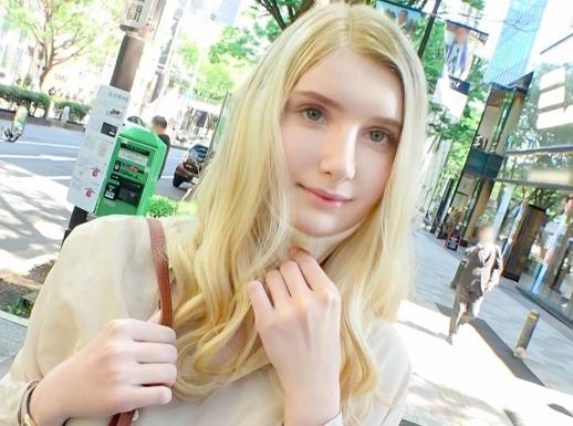 【外国人】表参道でGETした激アツ金髪美女!純白美肌のスレンダー女神に生挿入&激ピスで悶絶絶頂ww